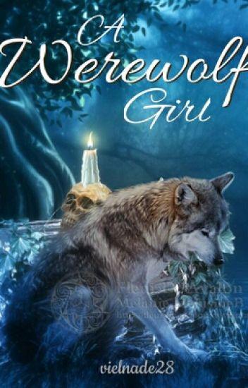 A werewolf girl