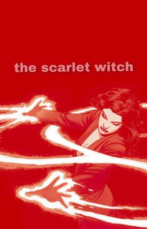 The Scarlet Witch  by kirinasinthedrink