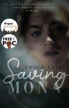 Saving Mona by Choco_Late8