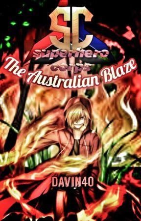 Superhero Corps: The Australian Blaze  by Davin40