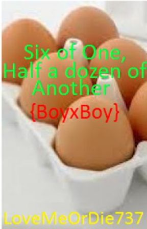 Six Of One, Half A Dozen Of Another (BoyxBoy) by LoveMeOrDie737