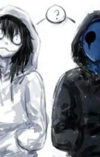 Amor sangriento-Eyeless Jack x Jeff The Killer (yaoi) by Vikingas_Zombies