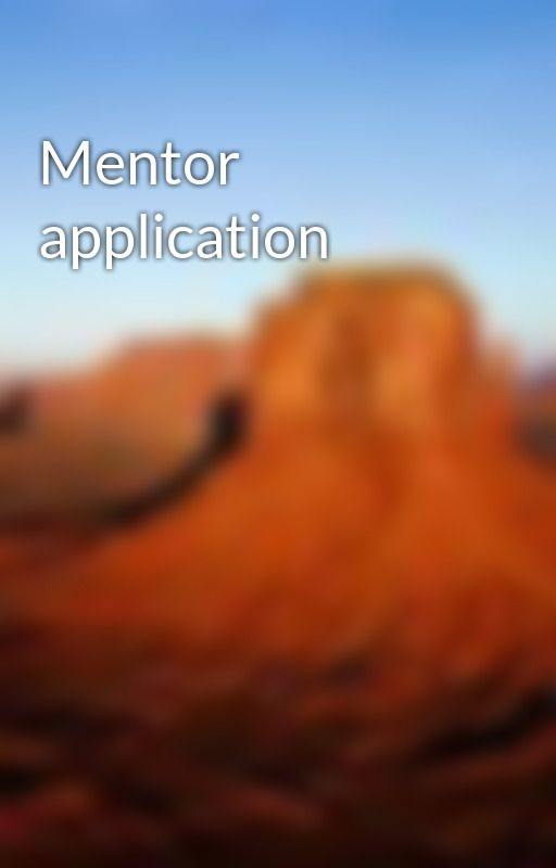Mentor application by MentorClub
