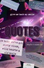 QUOTES by Isiii05
