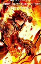Fate/Extra - Flame-Haired Burning-Eyed Hunter Servant by StarWaver