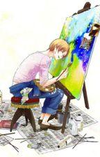 Sky-coloured Canvas~ [APH- GerIta ONE SHOT] by Sama-senpai-san