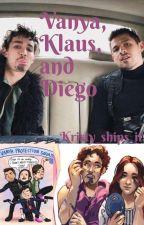 Vanya, Klaus, & Diego (& Ben) by Queer_illusion
