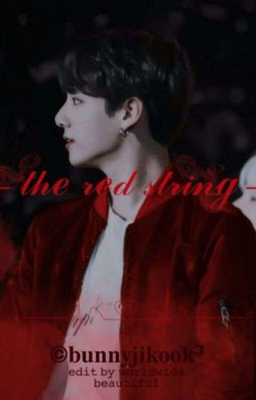 The Red String by bunnyjikook3