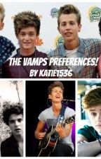 The Vamps Preferences by katie1536