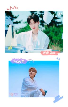 [𑁍] The Wolf and his Lil Puppy by staychanmin