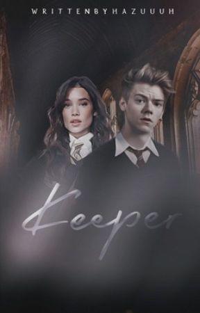 KEEPER, hugo granger-weasley by hazuuuh