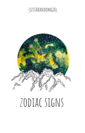 Zodiac Signs by -justarandomgirl