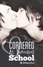 Cornered at boarding school ~ Phanfiction (boyxboy) by PaigeStar99