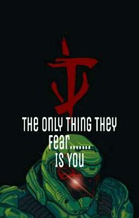 The One They All Fear. ( Doom reader x Hazbin Hotel ) ( 18+ ) by YoBoyMcFly