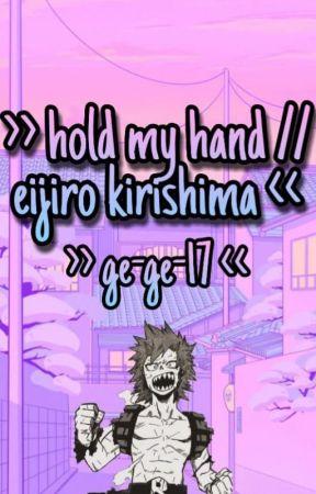 hold my hand // eijiro kirishima by Ge-Ge-17