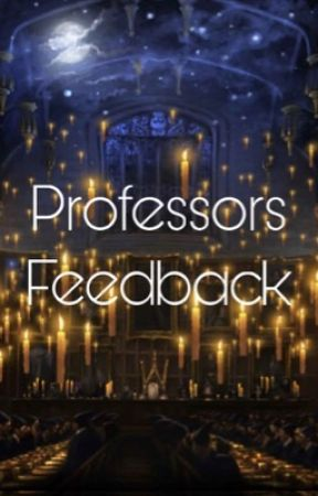 Professors feedback by HPfanficawards-