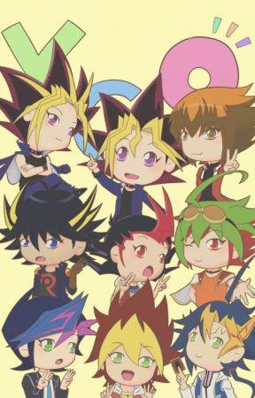 Yu-Gi-Oh protagonists quarantine days by Tsukiko05