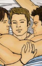 Cas, Sam and who's that man? by deactivated19282773