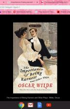 The importance of being earnest by charliedawson13