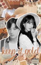 keep it gold | j.jk x i.ya by iyannapeach