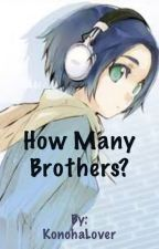 How Many Brothers? (BroCon Fanfic) by KononoWrites