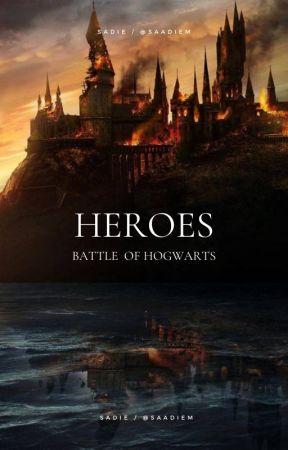 HEROES ⟶ battle of hogwarts by saadiem