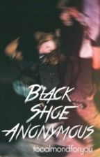 Black Shoe Anonymous by tooalmondforyou