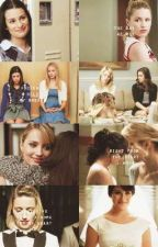 Finchel, Klaine, and Brittana turned into Faberry by Brittana-Karley