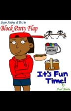 Super Audrey & Pets in: Block Party Flap by Palertestories