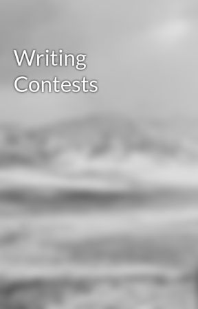 Writing Contests by writingkat1994