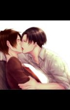 Please let me help you- Eren and Levi by Ereri-love
