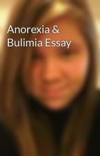 essay of anorexia and bulimia