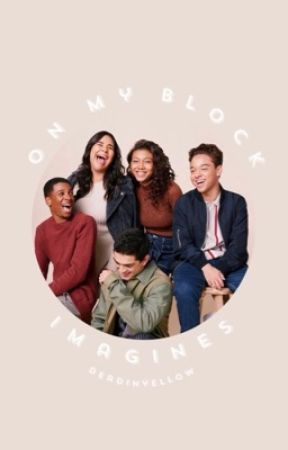 oN mY bLock iMagines by deadinyellow