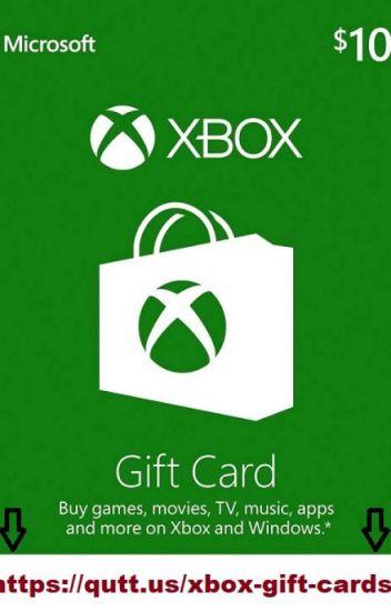 free xbox gift card codes no human verification