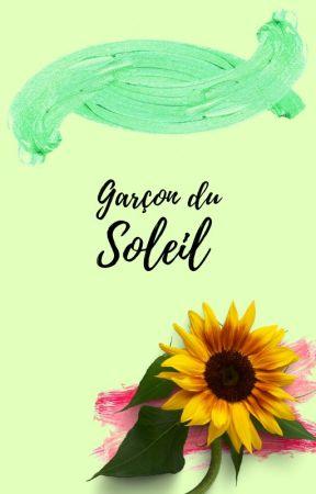 Garçon du soleil by xBlue_Sunflower