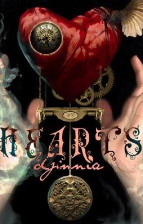 Hearts by djinnia