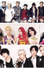 SHINee v Exo for F(x) by mani4456