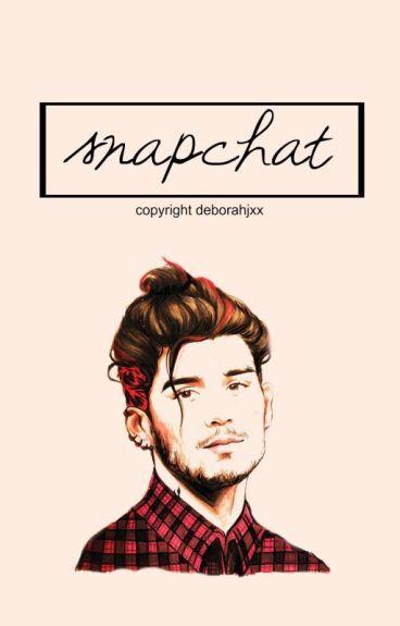 Snapchat ✧ Zayn Malik #Wattys2015 [RE-EDITANDO]