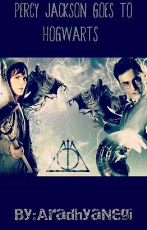 Percy Jackson Goes To Hogwarts (wow so original) by AradhyaNegi