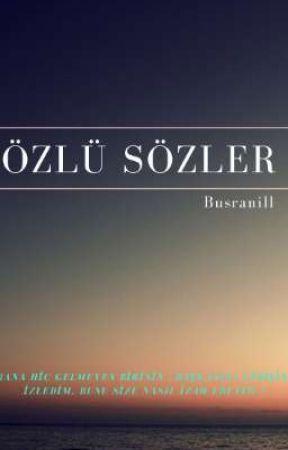 ÖZLÜ SÖZLER by Busranill