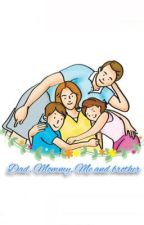Dad, Mommy, Me and Brother by Aisyahdhar