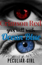Crimson Red goes well with Ocean Blue by Nikashi0925