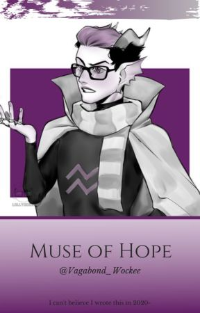 Muse Of Hope | Eridan X OC by Vagabond_Wockee