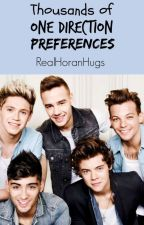Thousands of One Direction Preferences by RealHoranHugs