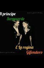 La regina Grifondoro, e il principe Serpeverde by takemetobeaconhills
