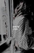 WRITE OWL ▹ blog by elegantholmes