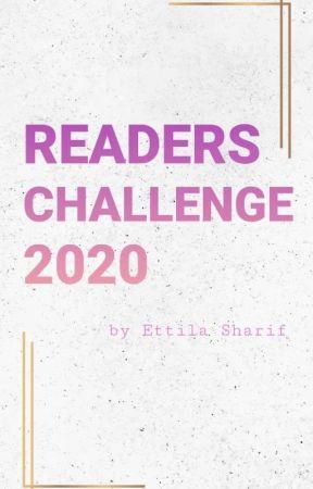 Readers Challenge 2020 by EttilaSharif