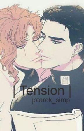 | Tension | Kakyoin X Jotaro | (LEMON!) by jotarok_simp
