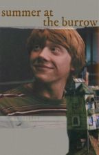 Summer At The Burrow - Ron Weasley by twasallyellow