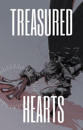 𝕋𝕣𝕖𝕒𝕤𝕦𝕣𝕖𝕕 ℍ𝕖𝕒𝕣𝕥𝕤    Persona 5 x Reader Oneshots by GoddessInternal